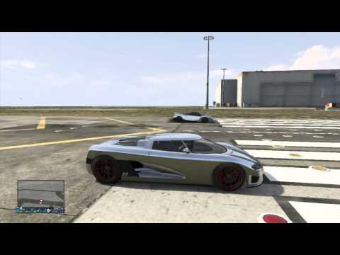 GTA 5 Drag Race Cheetah vs Entity XF