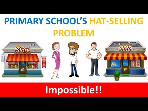 Super tricky math riddle: Primary school's hat-selling problem - Can you solve it?