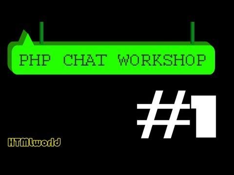 PHP Tutorial :: Chat erstellen mit PHP // WORKSHOP #1 // deutsch