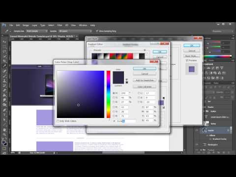 How to Convert PSD to HTML5 (Part 1) - Download Link in Description