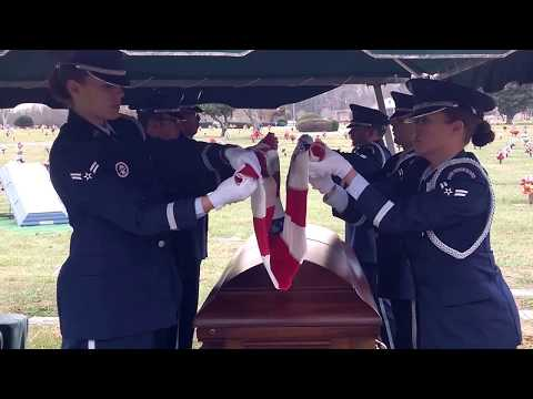USAF Honor Guard Drill Team Thank You