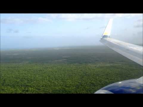 Miami Air B737-800 landing in Punta Cana
