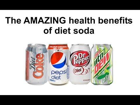 The AMAZING health benefits of diet soda!