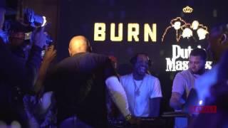 Meek Mill DJs at Floyd Mayweather