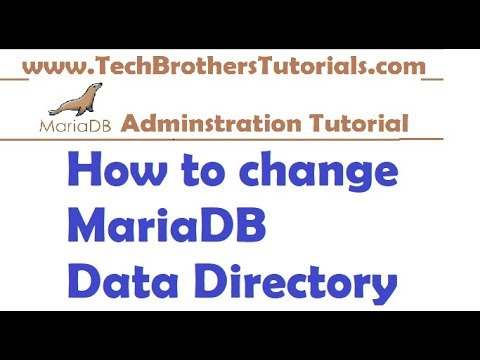 How to Change MariaDB Data Directory in Windows - MariaDB Admin Tutorial