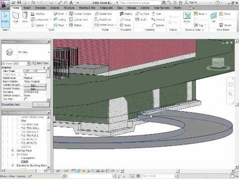 Advanced Revit Architecture 2012 Tutorial - Parking Garage Ramps Using Floors