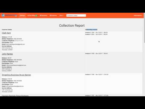 What is a Collection Report? and how to use it