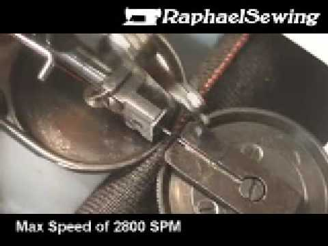 Techsew 202 Industrial Fur / Mink Sewing Machine