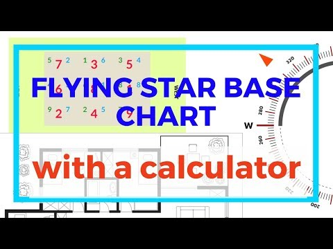 How to find your flying star base chart with an online calculator or app