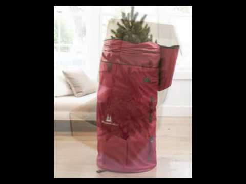 ARTIFICIAL CHRISTMAS TREE STORAGE BAGS AND ACCESSORIES