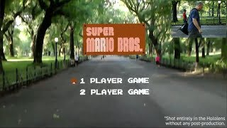 Geek Creates Super Mario Brothers AR and Plays in Central Park   What