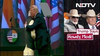 PM Modi-Donald Trump's Big Show At