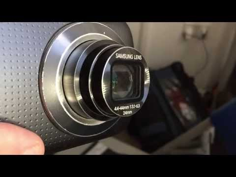 Samsung Galaxy K Zoom lens slow motion study