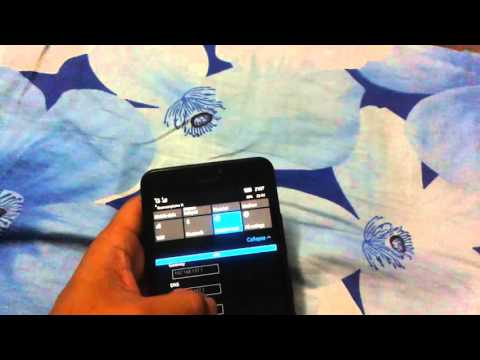 Static IP settings in Microsoft Lumia Windows Phone