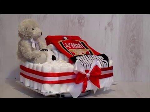 Nappy Cake Football Arsenal