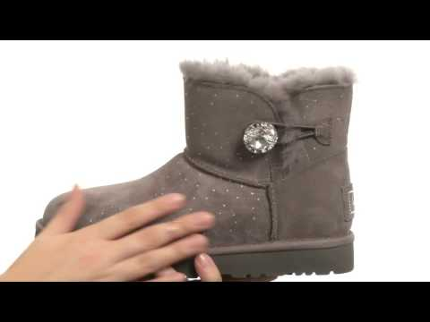UGG Mini Bailey Button Bling Constellation SKU:8553222