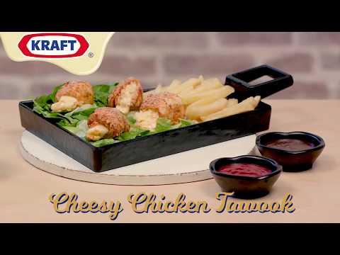 Cheesy Chicken Tawook