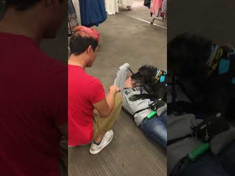 Service Dog syncope training