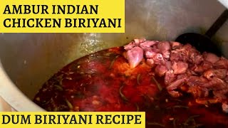 Tasty ambur dum chicken biriyani for 200 people