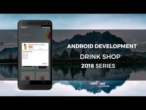 Android Development Tutorial - Drink Shop App part 8 Confirm Cart Dialog