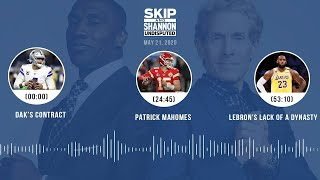 Dak's contract, Patrick Mahomes, LeBron's lack of a dynasty (5.21.20) | UNDISPUTED Audio Podcast