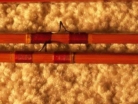 Old Bamboo Fishing Fly Rod