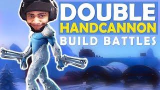 DOUBLE HANDCANNON   BUILD BATTLES   SICK SHOTS - (Fortnite Battle Royale)