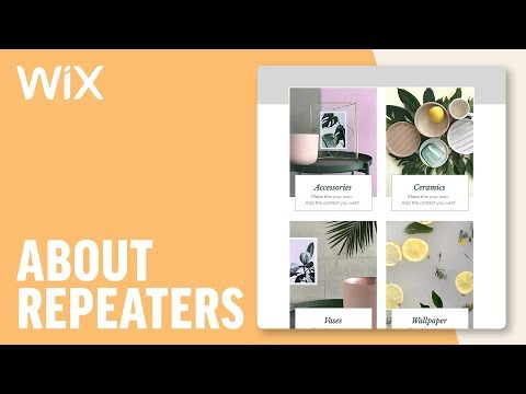 Adding Repeaters | Wix Tutorial