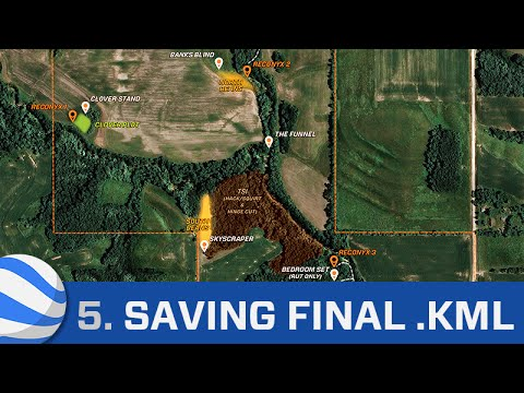 Google Earth Tutorial Part 5: Saving the .KML File and Map Demo