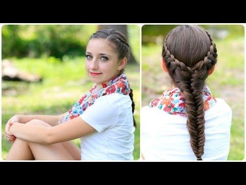 The Laced Fishtail Braid | Cute Girls Hairstyles