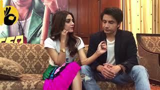 Exclusive: Ali Zafar & Maya Ali talks about Meesha Shafi, Teefa in Trouble and Bollywood