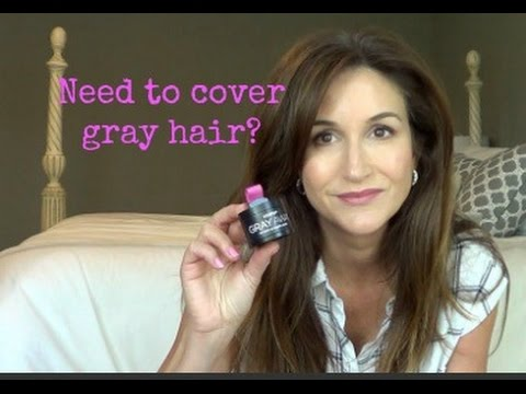 Need to Cover Gray Hair? Try this...