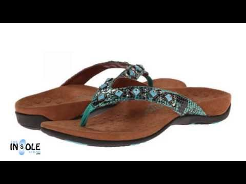 Vionic Orthaheel  Floriana Teal Snake WIDE Orthotic Sandals @TheInsoleStore.com