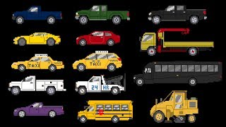 Street Vehicles 4 - Cars And Trucks - The Kids