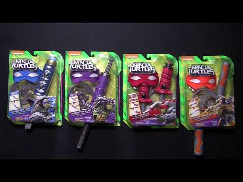 TMNT Out of the Shadows Conceal & Reveal Combat Gear Instructional
