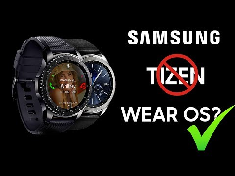 Samsung To Ditch Tizen On Its Smartwatch For Wear OS?