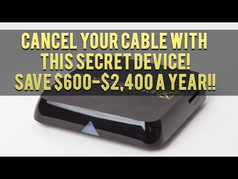 How To Get Rid of Your Expensive Cable Bill