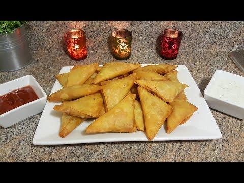 Chicken Qeema Samosa | Quick & Delicious Cuisine