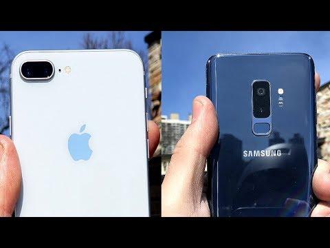 iPhone 8 Plus vs Galaxy S9 Plus Camera Comparison!