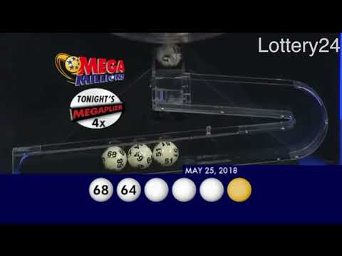 2018 05 25 Mega Millions Numbers and draw results