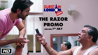 Guest iin London   The Razor Promo   Paresh Rawal, Kartik Aaryan, Kriti Kharbanda, Tanvi Azmi
