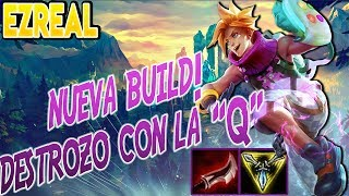 BUILD ROTÍSIMA! DESTROZO!! 💪 |Ezreal Adc S7| Runas Maestrias y Build | Parche 7.14 |Español NO GUIA