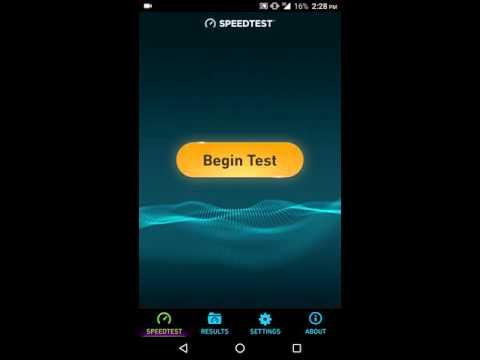 Airtel 3g Speed test