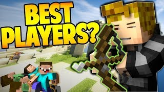 FIGHTING THE WORLDS BEST PLAYERS! (Hypixel Skywars)