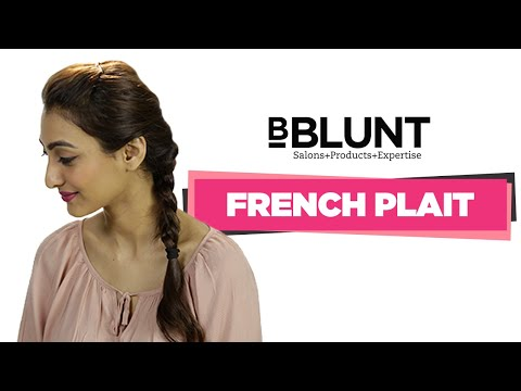 How To Make French Plait Easy Tutorial