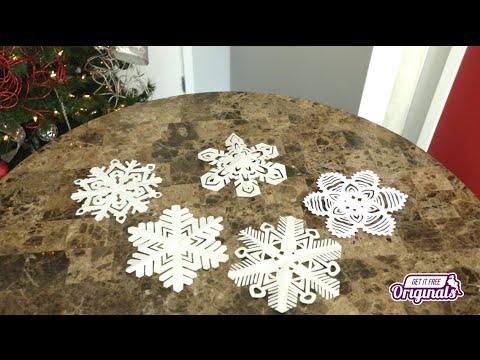 Beautiful DIY Paper Snowflakes