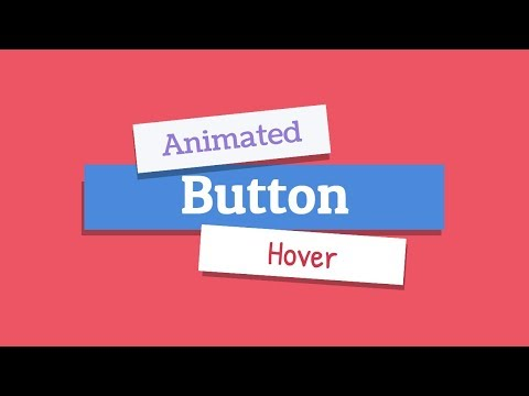 Cool Button Hover Animation HTML/CSS