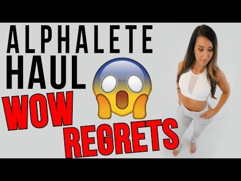 ALPHALETE HONEST Try On Haul Review   Not Sponsored