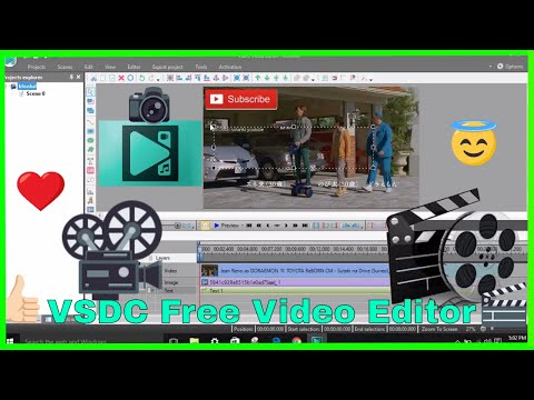 How To Use - (VSDC Free Video Editor) Free Software - {2018 Tutorial} **Step By Step**