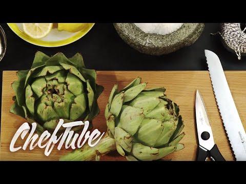 How to prepare artichoke bases